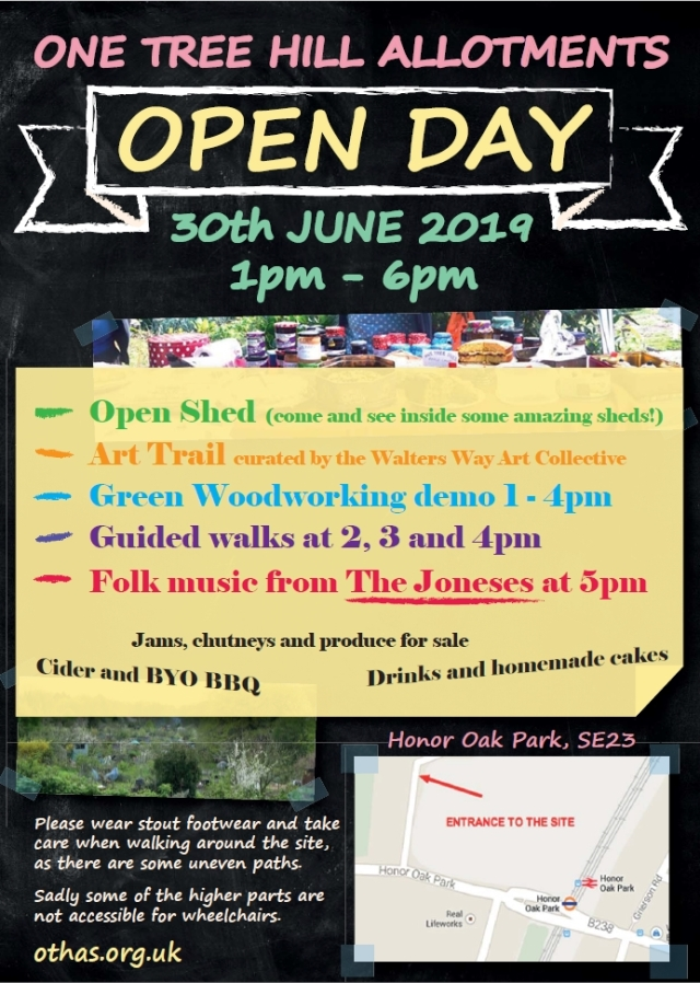 OTHAS open day poster 2019